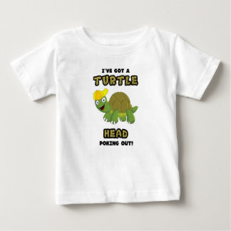 Turtle Head Poking Out Baby T-Shirt