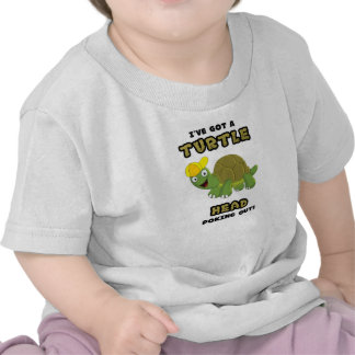 Turtle Head Poking Out T-shirts