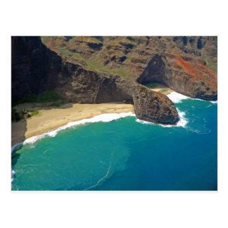 Turtle Head Sea Cave Napali Coast Postcard