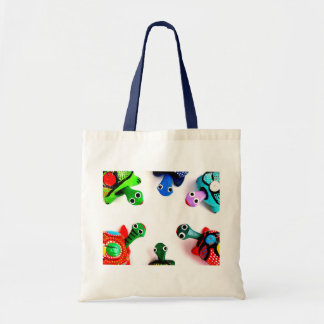 Turtle Heads! Tote Bag