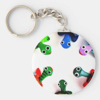 Turtle Heads! Key Chain