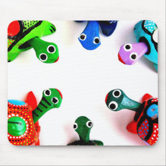 Turtle Heads! Mouse Pad