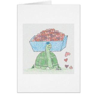 Turtle Hearts Card