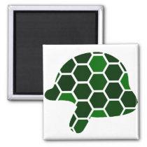 Turtle Helmet Magnet