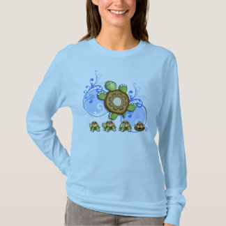 Turtle Hurry Up Blue T-Shirt