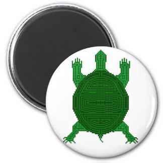 Turtle - I - Geometric Refrigerator Magnets