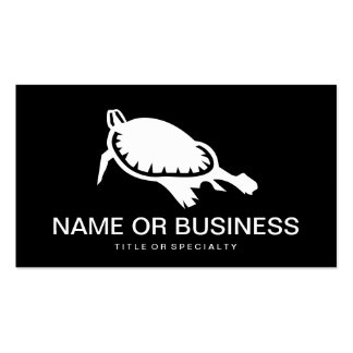 turtle icon business card
