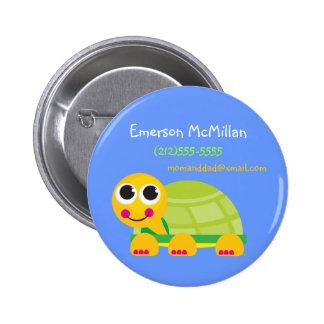 Turtle Identification Button