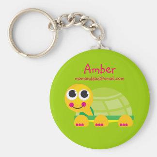 Turtle Identification Keychain