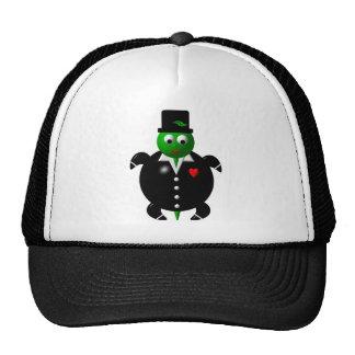 Turtle in a Tuxedo Trucker Hat