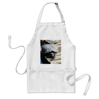 Turtle in Brazil Adult Apron