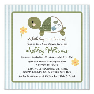 Baby turtle invitations announcements zazzle turtle in diapers baby shower invitations blue filmwisefo