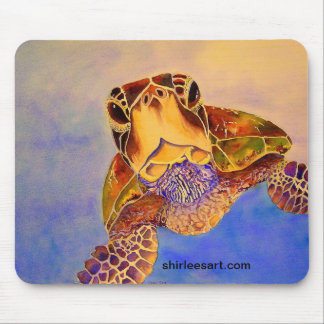 turtle in your face mousepad