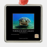 Turtle Is Not Angry Christmas Ornaments