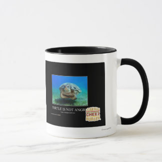 Turtle Is Not Angry Mug