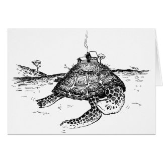Turtle Island Card