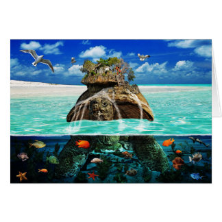 Turtle Island Fantasy Secluded Resort Cards