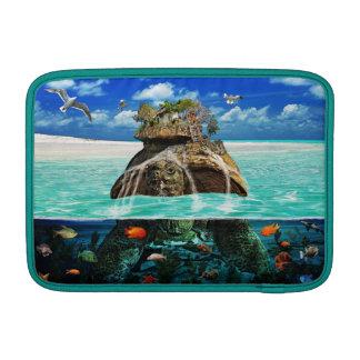 Turtle Island Fantasy Secluded Resort MacBook Sleeve