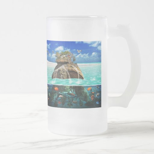 Turtle Island Fantasy Secluded Resort Mugs