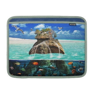 Turtle Island Fantasy Secluded Resort Sleeves For MacBook Air