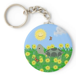 Turtle Keychain keychain