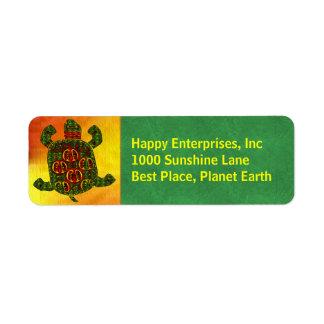 Turtle Label