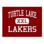 Turtle Lake - Lakers - High - Turtle Lake Postcard