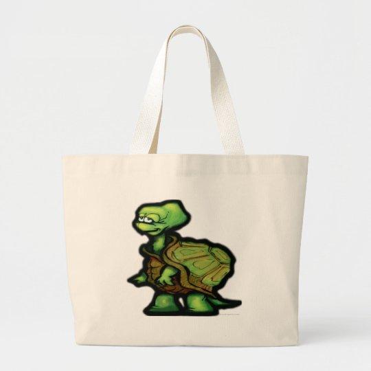 Turtle Large Tote Bag