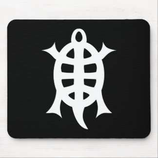 Turtle letter crumbling mouse pad