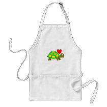 Turtle Love Apron