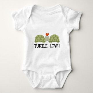 Turtle love baby bodysuit