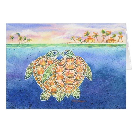 Turtle Love Card