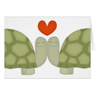 Turtle love cards
