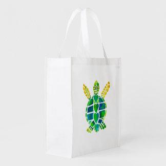 Turtle Love Grocery Bag