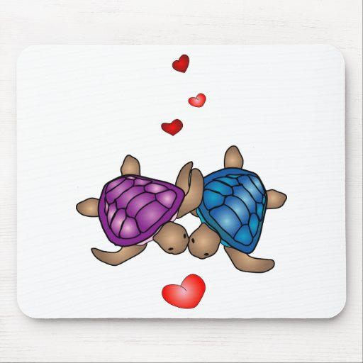 Turtle Love Mousepad