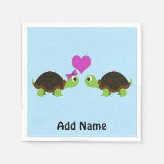 Turtle Love Napkin