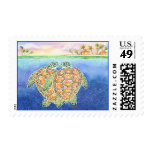 Turtle Love Postage Stamps
