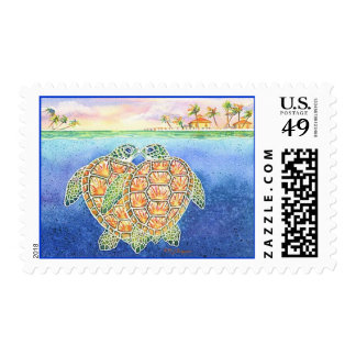 Turtle Love Stamp