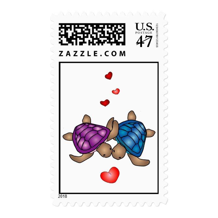 Turtle Love Stamp Postage
