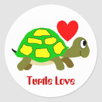Turtle Love Sticker