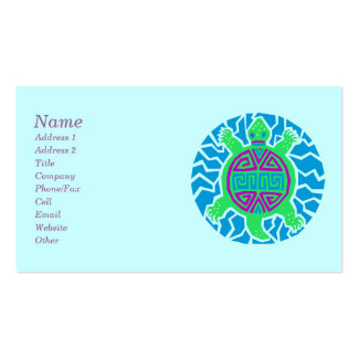 Turtle Lover Business Cards
