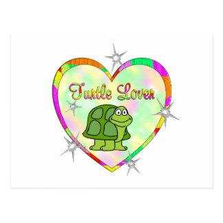Turtle Lover Postcard