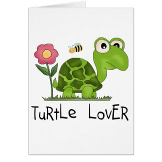 Turtle Lover Tshirts and Gifts Greeting Card