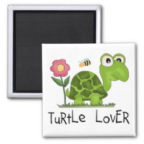 Turtle Lover Tshirts and Gifts Magnet