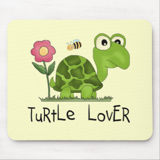 Turtle Lover Tshirts and Gifts Mouse Pad