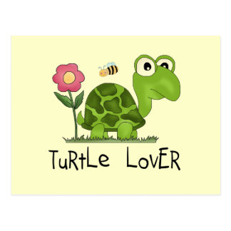 Turtle Lover Tshirts and Gifts Postcard