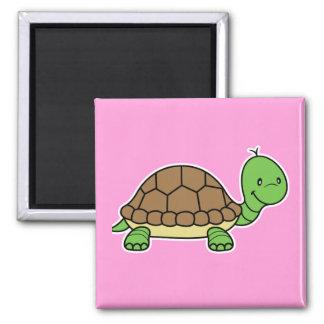 Turtle magnet pink