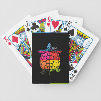 TURTLE MAYA AZTEC DRCHOS.COM 11 CUSTOMIZABLLE PROD BICYCLE PLAYING CARDS