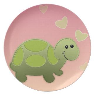 Turtle Melamine Plate