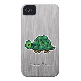 Turtle; Metal-look iPhone 4 Covers